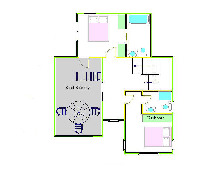 Marlborough 3 Bedroom Villa Ground Floor Plan
